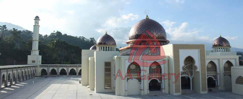 Ahli Kubah Tembaga Masjid 01