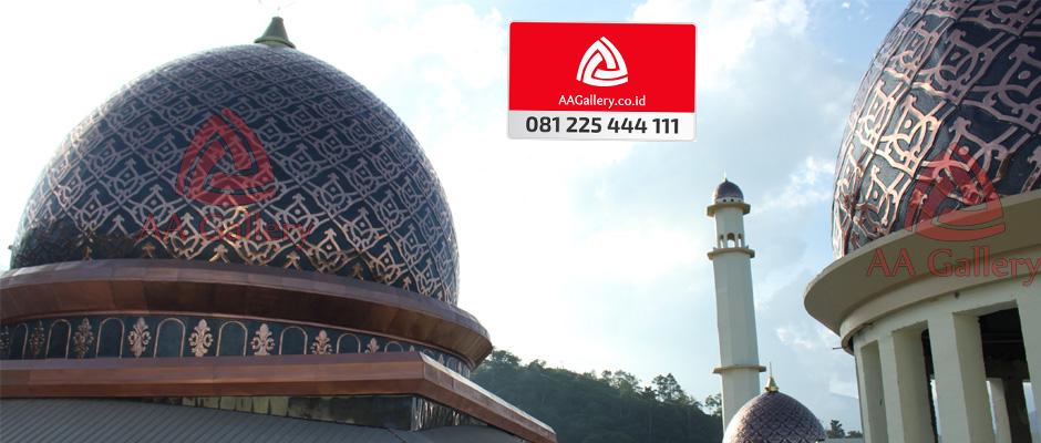 Kubah Masjid Dari Tembaga 04