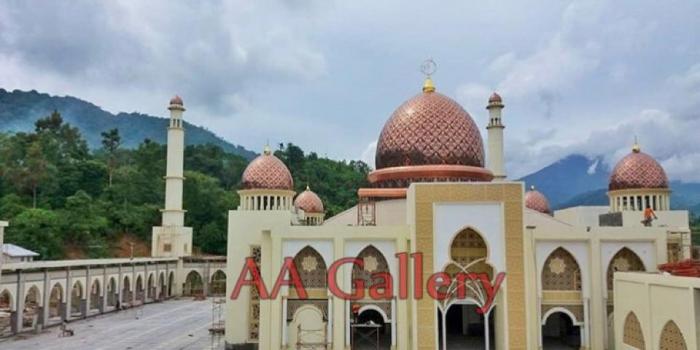 Portfolio Kubah Masjid Dari Tembaga Minimalis, Informasi oleh Pembuat Kubah di Jateng