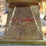 Mahkota Pilar Kuningan Dan Tembaga 6
