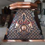 Mahkota Pilar Tembaga Dan Kuningan 1